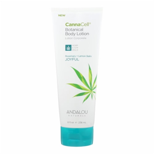 Andalou Naturals Lotion - Rosemary and Lemon Balm - 1 Each - 8 fl oz. Perspective: front