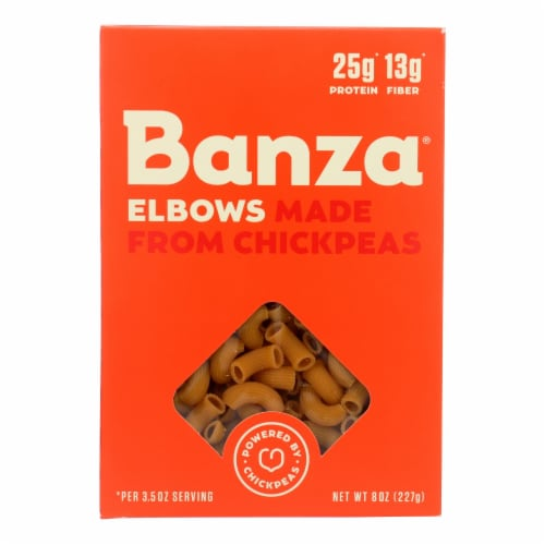 Banza Elbow Chickpea Pasta Perspective: front
