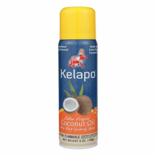 Kelapo Extra Virgin Coconut Oil Cooking Spray - Case of 6 - 5 Fl oz. Perspective: front