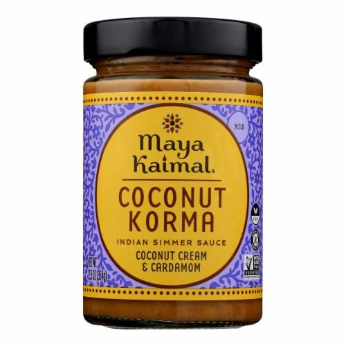 Maya Kaimal - Simmer Sauce Coconut Korma - Case of 6 - 12.5 OZ Perspective: front