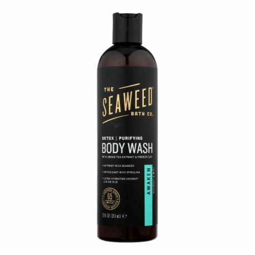 The Seaweed Bath Co Bodywash - Detox - Purify - Awake - 12 fl oz Perspective: front
