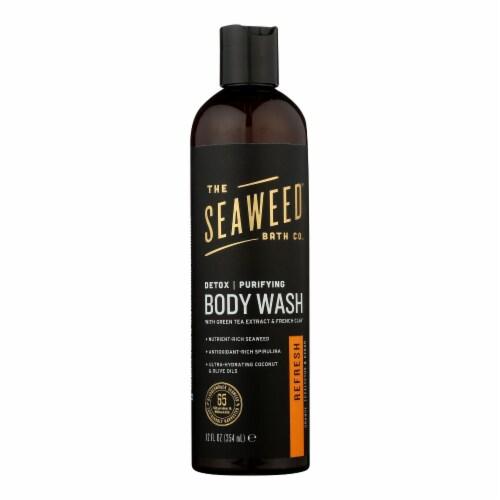 The Seaweed Bath Co Bodywash - Detox - Purify - Refresh - 12 fl oz Perspective: front
