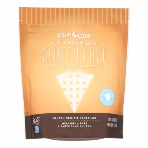 Cup 4 Cup - Pie Crust Mix - Gluten-Free - Case of 6 - 1 Lb Perspective: front