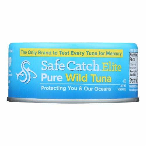 Safe Catch Solid Wild Tuna Steak Perspective: front