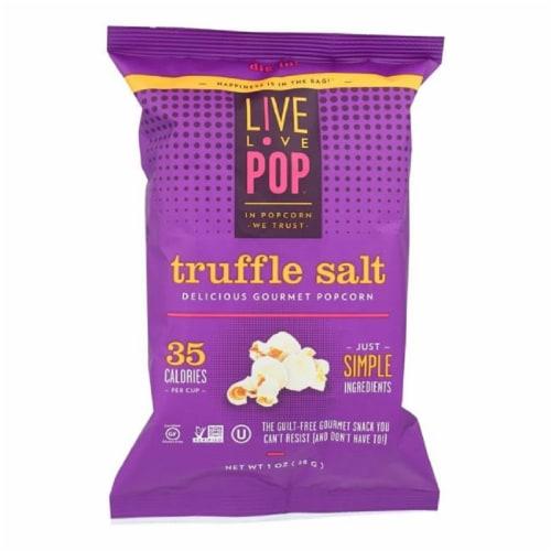 Live Love Pop Popcorn Truffle Salt, 1oz (Pack of 24) Perspective: front