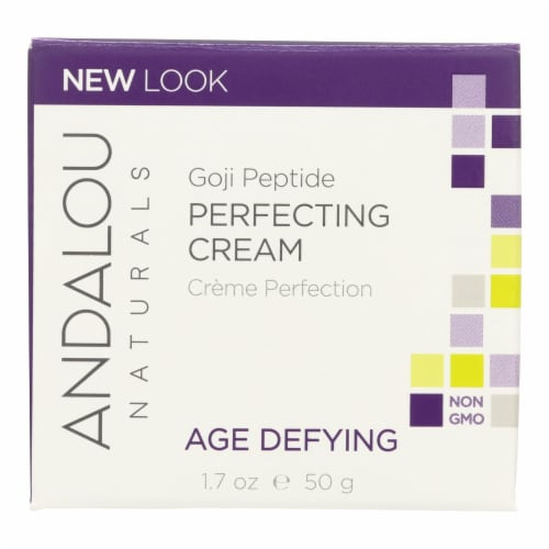 Andalou Naturals Super Goji Peptide Perfecting Cream - 1.7 fl oz Perspective: front