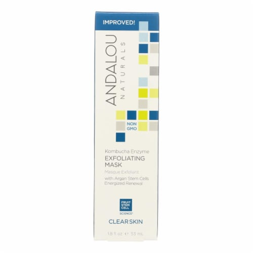 Andalou Naturals Exfoliating Peel Komb Enzyme - 1.8 oz Perspective: front
