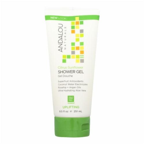 Andalou Naturals - Shower Gel Citrus Snflwer - 8.5 FZ Perspective: front