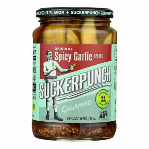 Suckerpunch - Pickle Spears Original - Case of 6 - 24 FZ Perspective: front