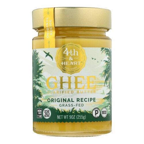 4th and Heart - Ghee Butter - Original - Case of 6 - 9 oz. Perspective: front