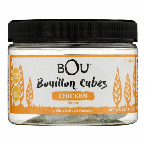 Bou - Bouillon Cube Chicken 6ct - CS of 6-2.53 OZ Perspective: front