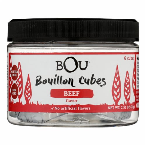 Bou - Bouillon Cube Beef 6 Ct - CS of 6-2.53 OZ Perspective: front