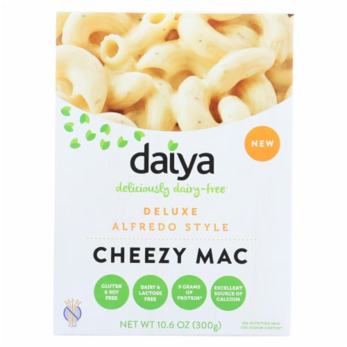 Daiya Foods - Cheezy Mac Deluxe - Alfredo Style - 10.6 oz. - Case of 8 Perspective: front