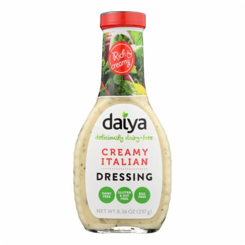 Daiya Foods - Dairy Free Salad Dressing - Creamy Italian - Case of 6 - 8.36 oz. Perspective: front