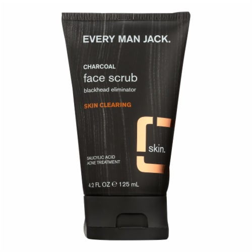 Every Man Jack Face Scrub - Skin Clearing - 4.2 oz Perspective: front