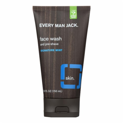 Every Man Jack Hydrating Face Wash - Face Wash - 5 FL oz. Perspective: front