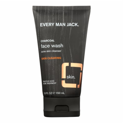 Every Man Jack Face Wash - Skin Clearing - 5 oz Perspective: front