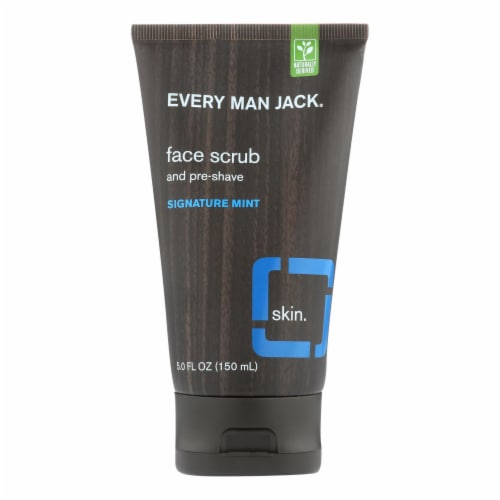 Every Man Jack Face Scrub  - 1 Each - 5 FZ Perspective: front