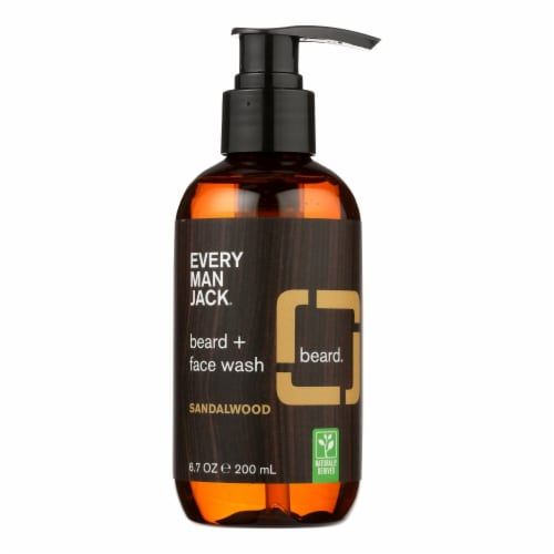 Every Man Jack - Beard & Body Wsh Sndlwd - 1 Each - 6.7 OZ Perspective: front