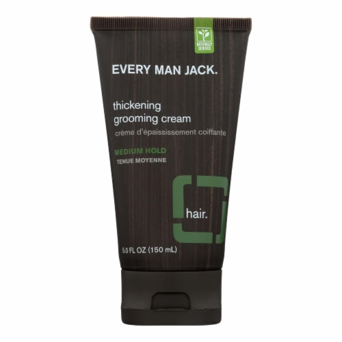 Every Man Jack Thickening Grooming Cream - Medium Hold - 5 oz Perspective: front