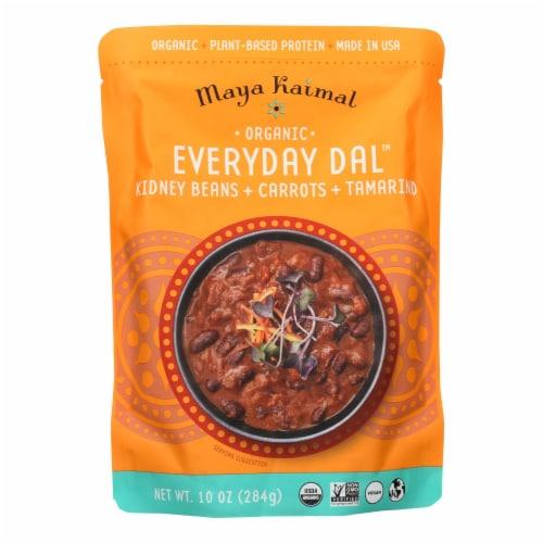 Maya Kaimal - Organic Everyday Dal - Kidney Bean Carrot Tamarind - CS of 6 -10 OZ Perspective: front