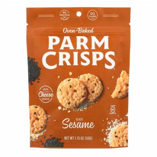Kitchen Table Bakers Parm Crisps - Sesame Parmesan - Case of 12 - 1.75 oz. Perspective: front