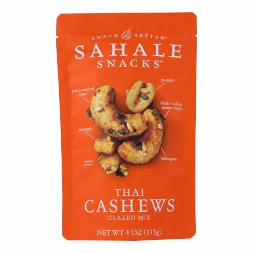 Sahale Snacks Thai Cashews Glazed Mix Perspective: front