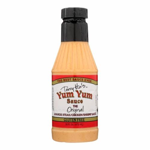 Terry Ho's Yum Yum Sauce Yum Yum Sauce - Case of 6 - 16 FZ Perspective: front