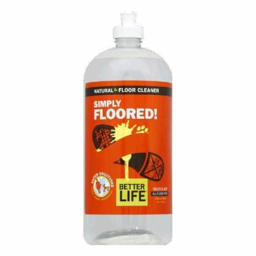 Better Life Ready to Use Simply Floored Floor Cleaner, 32 OZ (Pack of 6) Perspective: front