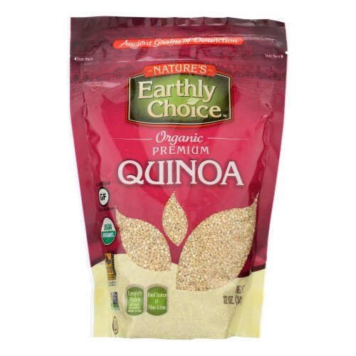 Nature's Earthly Choice Premium Quinoa - Case of 6 - 12 oz. Perspective: front