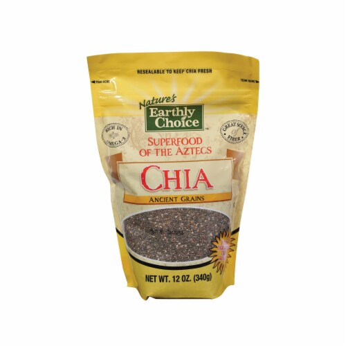 Nature's Earthly Choice Chia Ancient Grains - Case of 6 - 12 oz. Perspective: front