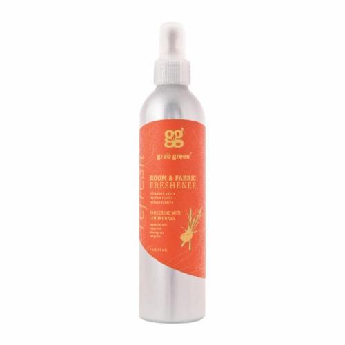 Grab Green Room & Fabric Freshener - Tangerine Lemongrass - Case of 6 - 7 fl oz Perspective: front