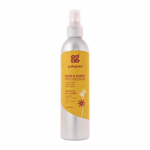 Grab Green Room and Fabric Freshener - Jasmin - Case of 6 - 7 Fl oz. Perspective: front