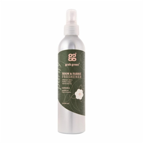 Grab Green Room and Fabric Freshener - Gardenia - Case of 6 - 7 Fl oz. Perspective: front