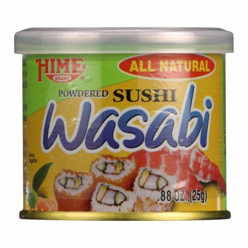 Hime Sushi - Wasabi - Case of 10 - .88 oz Perspective: front