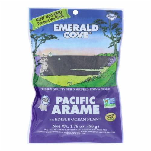 Emerald Cove Pacific Arame - Sea Vegetables - Silver Grade - 1.76 oz - Case of 6 Perspective: front