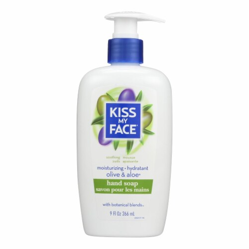 Kiss My Face Moisture Soap Olive And Aloe - 9 fl oz Perspective: front