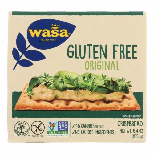 Wasa Gluten-Free Original Crispbread  - Case of 10 - 5.4 OZ Perspective: front