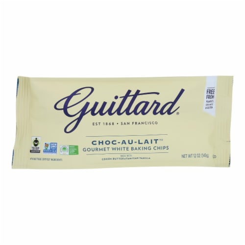 Guittard Chocolate Chips - Choc-Au-Lait - Case of 12 - 12 oz. Perspective: front