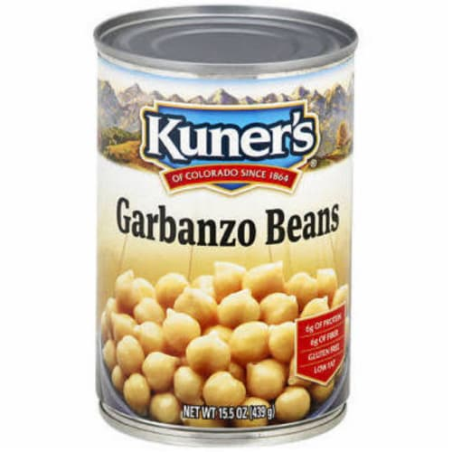 Kuner's Garbanzo Beans , 15oz (Pack of 12) Perspective: front