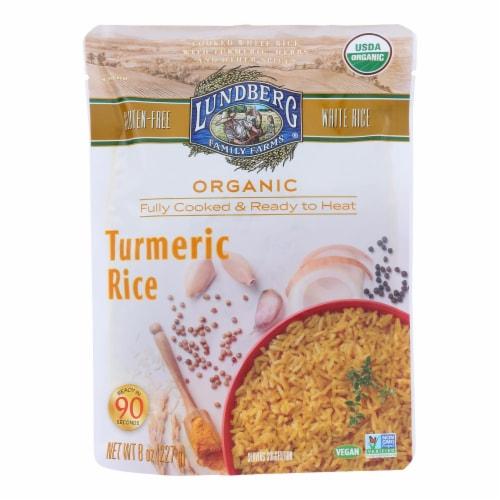 Lundberg Family Farms - Rice Tumeric Rte - Case of 6 - 8 OZ Perspective: front