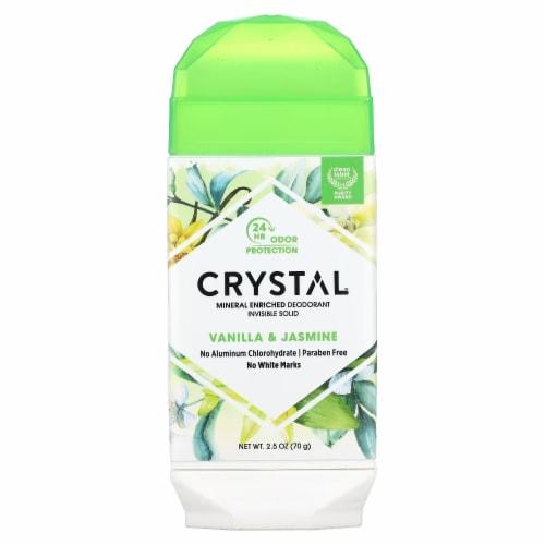 Crystal Deodorants - Invisible Solid Deodorant - Vanilla Jasmine - 2.5 oz. Perspective: front