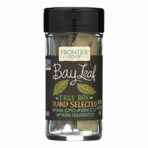 Frontier Herb Bay Leaf - Whole - .15 oz Perspective: front