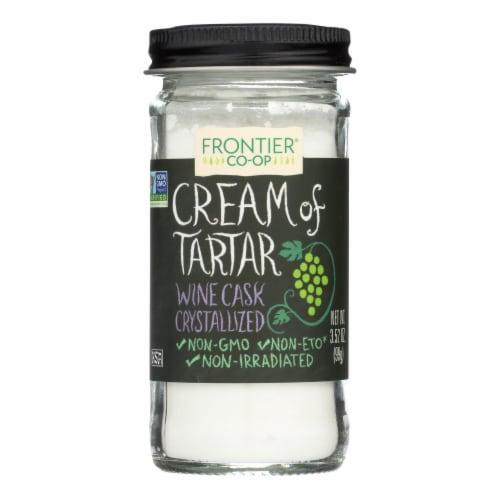 Frontier Herb Cream of Tartar - 3.52 oz Perspective: front