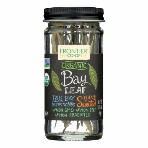 Frontier Herb Bay Leaf - Organic - Whole - .15 oz Perspective: front