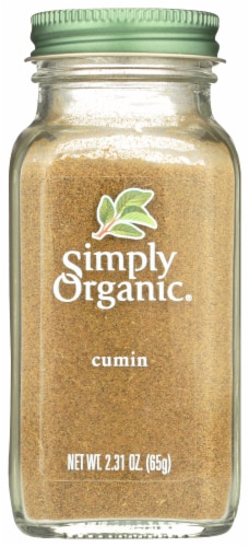 Simply Organic Ground Cumin Seed - Case of 6 - 2.31 oz. Perspective: front