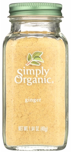 Simply Organic Ginger Root - Organic - Ground - 1.64 oz Perspective: front