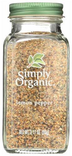 Simply Organic Lemon Pepper - Organic - 3.17 oz Perspective: front