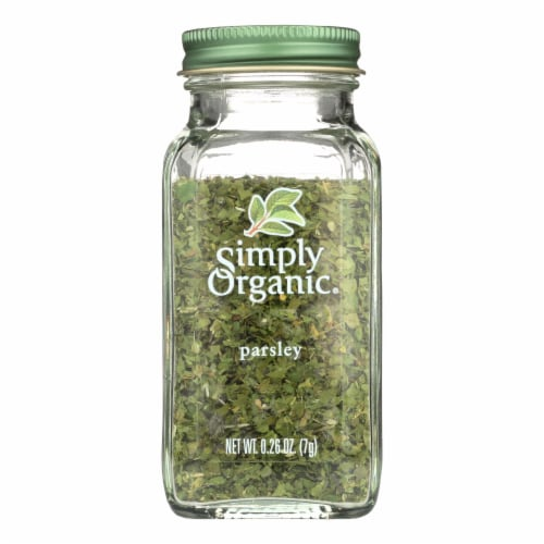 Simply Organic Parsley Leaf - Organic - .26 oz Perspective: front