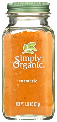 Simply Organic Turmeric Perspective: front